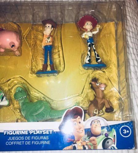 Disney Pixar Toy Story Figurine Playset Action Figures BRAND NEW Woody Jessie