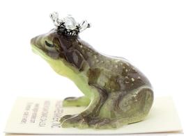 Hagen-Renaker Miniature Frog Prince Kissing Birthstone 04 April Diamond image 4