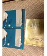 1997 Cadillac DeVille Eldorado Seville Service Shop Repair Manual Set W ... - $79.15