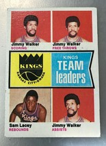1974-75 Topps #89 Jimmy Walker Sam Lacy Virginia Squires Team RC Basketb... - $0.98