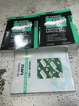 1991 Toyota MR2 MR 2 Service Repair Shop Manual Set W Electrical Wiring EWD - $148.45