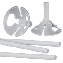 12 sets maxi balloon cups and sticks for large latex and Mylar balloons ... - $10.84