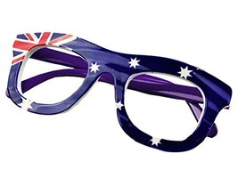 Australia Flag Children Eyeglass Frames Cute Glasses Frame Party Decorative Glas