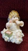 Vintage Angel Figurine 'John' Heaven Bundle - $8.60