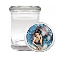 Odorless Air Tight Medical Glass Jar Ocean Views Design-008 - $12.95