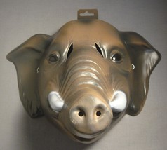ELEPHANT SAFARI ANIMAL HALLOWEEN MASK PVC - $6.23