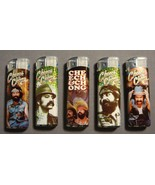 CHEECH & CHONG COLOR CHANGING NULITE LIGHTERS SET OF 5 - $6.23