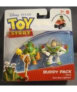 TOY STORY BUDDY PACK FIGURES TWITCH & HERO BUZZ LIGHTYEAR NEW - $6.23