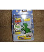 """TOY STORY CAKE TOPPER BUDDY PACK FIGURE SET OF 2  BUZZ & REX 2-3"""" - $9.75"""