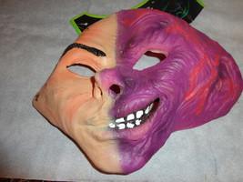 Harvey Two Face Half Mask Batman Series New Latex Adult New - $9.75