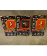 "STAR TREK REUSABLE PHONE AND TABLET SCREEN WIPES 1.25""  RED DOUBLESET OF 3 - $9.37"