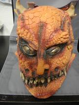 Lizard Monster Adult Latex Halloween Mask New. - $15.64