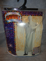 GHOST HALLOWEEN COSTUME SIZE STANDARD FITS UP TO 44 JACKET SIZE - $7.80