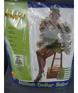 MILLION DOLLAR BABE HIGH ROLLERS HALLOWEEN COSTUME STANDARD UP TO LADIES... - $10.15