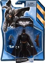 BATMAN THE DARK KNIGHT RISES CAPED CRUSADER FIGURE 4 INCHES BATARANG GRA... - $7.02