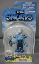 The Smurfs Grab 'Ems Handy Toy Figure Cake Topper By Jakks Pacific Ages 4+ - $3.88