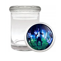 Odorless Air Tight Medical Glass Jar What does the Fox Say Design-006 - $12.95