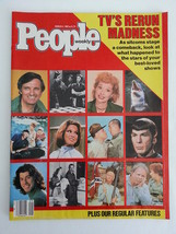 Magazine People 1985 March 4 1980s TV's Rerun Madness Stars Of Best Loved Shows - $11.99
