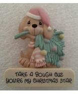 Fridge Magnet Precious Moments 1989 Puppy Bough Christmas Star Samuel J ... - $6.99