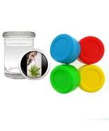 4 Slick Stash Ball Non Stick Oil Wax Concentrate+Glass Jar WC-21 - $15.64