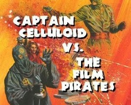 CAPTAIN CELLULOID VS. THE FILM PIRATES, RARE 4 CHAPTER SERIAL, 1966 - $19.99