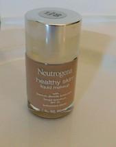 Neutrogena Healthy Skin Liquid Makeup SOFT BEIGE 50 1 fl OZ New - $14.99
