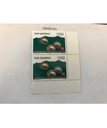 San Marino Sports 1000 lira duo mnh 1997  stamps - $2.00