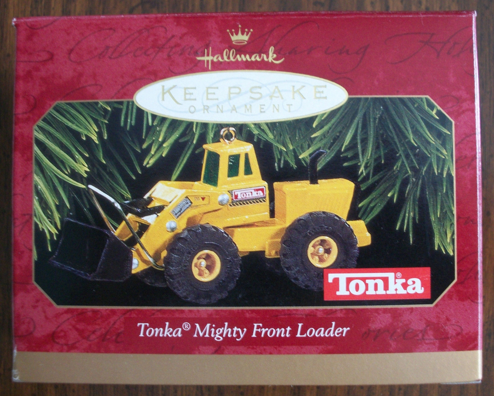 Primary image for Hallmark 1997 Keepsake Ornament TONKA MIGHTY FRONT LOADER NIB