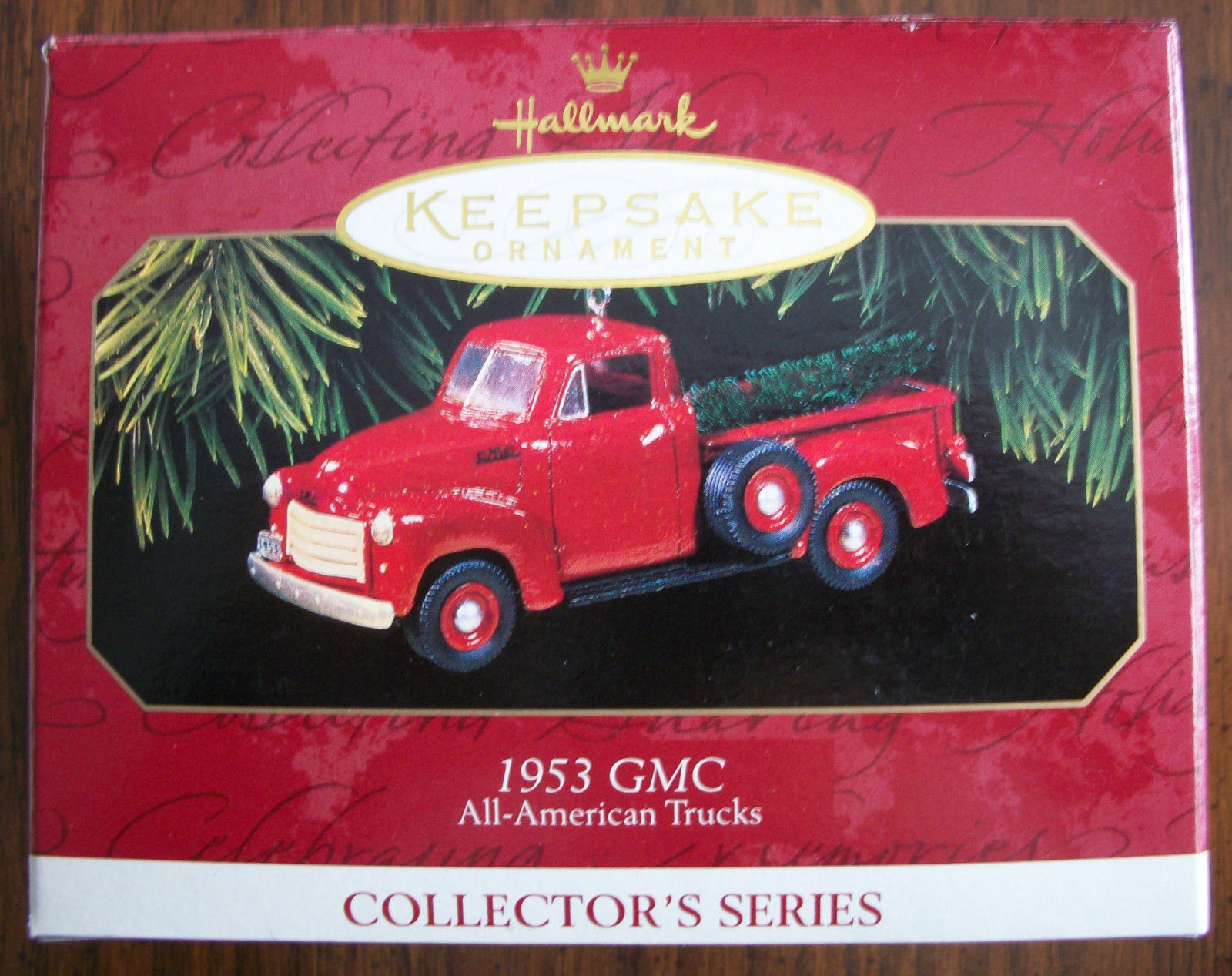 Primary image for Hallmark 1997 Keepsake Ornament 1953 GMC TRUCK All-American Trucks NIB