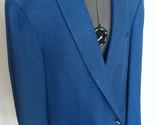 BRIONI for Neiman Marcus Blazer Coat 46 r Medium Blue Brunico FLAWLESS - £402.59 GBP