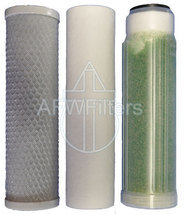 AFK-Omega filter kit replacement set for RO/DI aquarium sediment, carbon... - $46.75