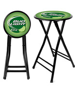 Bud Light Lime Beer 24 Inch Portable Cushioned ... - $40.99