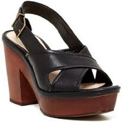 Pour la victoire pabla dress sandal, Black, Size US 7.5, MSRP $275