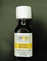 Aura Cacia Jasmine Absolute (in jojoba oil) 0.5 fl. oz. - $16.06
