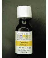 Aura Cacia Jasmine Absolute (in jojoba oil) 0.5 fl. oz. - $16.06