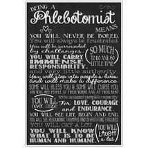 Phlebotomist Wall Art Decor – Graduation Gift f... - $18.50