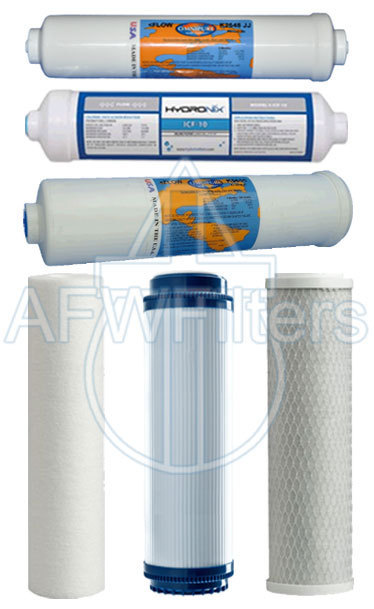 Primary image for Filter kit DFK-Kappa to fit the DRO-XI RO system replacement filters 8 stage RO