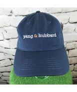 Yang & Hubbard Mens One Sz Hat Blue Adjustable Baseball Cap 100% Cotton NWT - $14.84