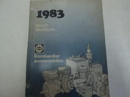 1983 Bombardier Schneemobil Service Reparatur Shop Manuell Fabrik OEM Bu... - $47.51