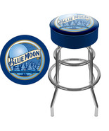 Blue Moon Beer Padded Bar Pub Stool Chair NEW - $119.99