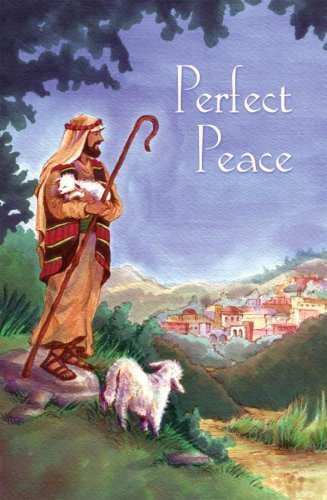 Perfect Peace with Envelope (Christmas at Home - Cards)