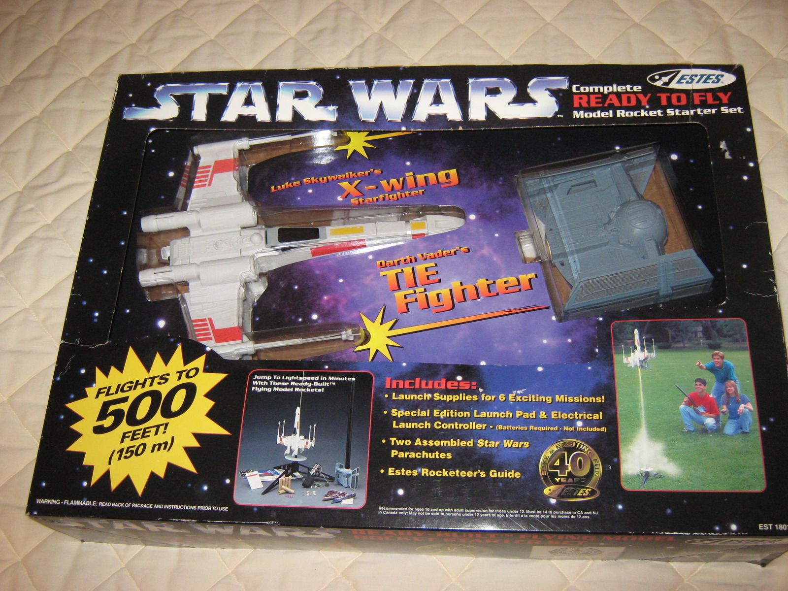 Primary image for Star Wars ready to fly model rocket starter set