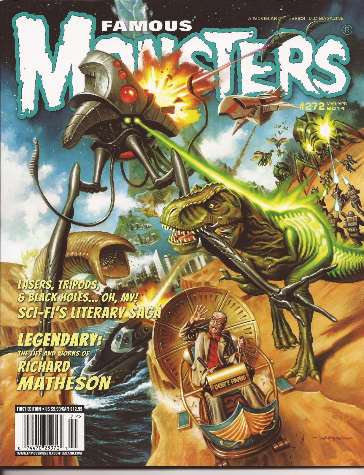 Primary image for Famous Monsters Of Filmland #272 Richard Matheson Tribute Sci-Fi Literature
