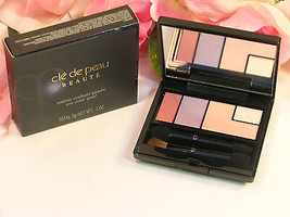 New Shiseido Cle De Peau Beaute Eye Shadow Color Quad #11 Pink Shimmer H... - $34.99