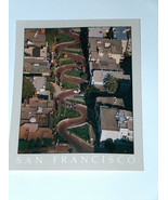 Reynard of San Francisco World's Crooked Lombard Street Postcard Steve A... - $9.05