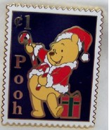 DISNEY WINNIE THE POOH CHRISTMAS POSTAGE STAMP LE 250 PIN NE - $49.99