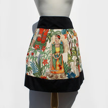 Skirt Frida Kahlo Mexican Vintage Inspired Retro Skirt - $40.00