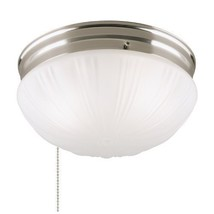 Westinghouse 6721000 Two-Light Flush-Mount Interior Ceiling Fixture with Pull Ch - $68.42