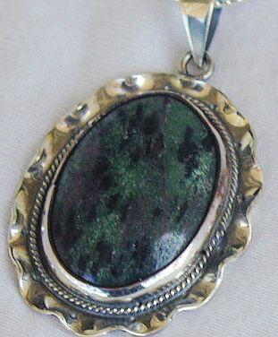 Malaysian agate pendant