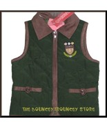 NWT Gymboree Equestrian Club Crest Quilted Vest Size 3 - $16.99